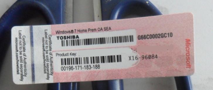 windows 7 home prem key card, Manufacturers, Suppliers