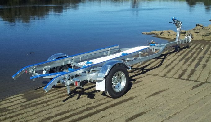 Galvanized Boat Trailer Axle Cbt J54 Manufacturers